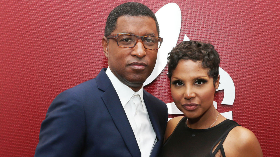 A Getty image of Toni Braxton and Babyface.