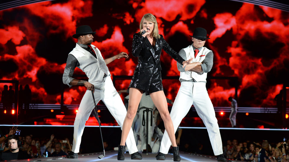 A Getty Image of Taylor Swift.