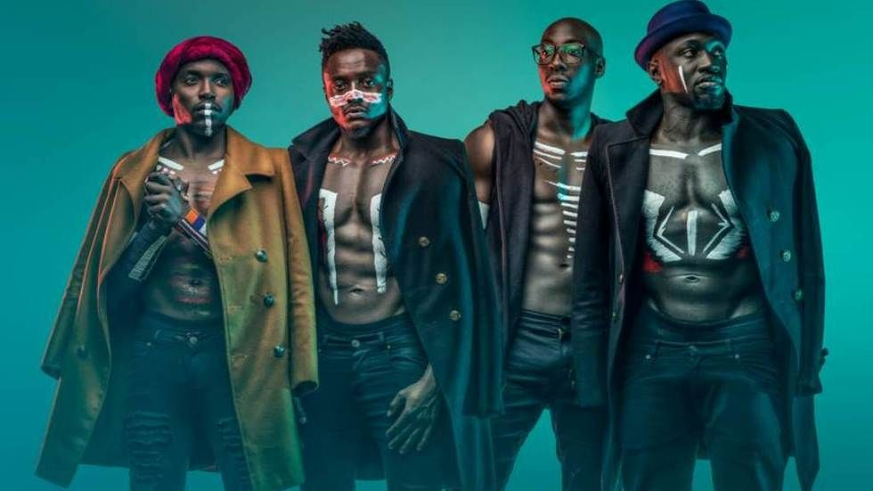 Kenyan pop group Sauti Sol