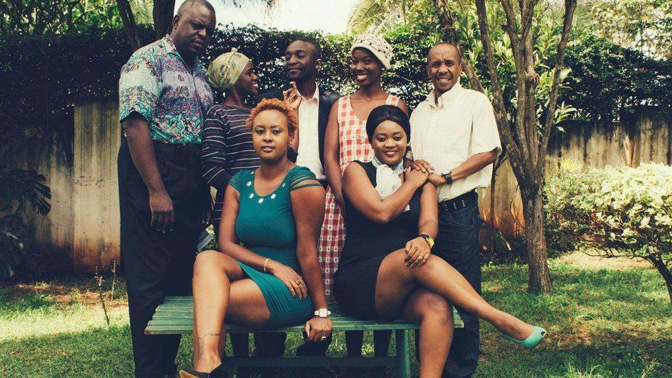 The Cast of Nyumba Kumi on Maisha Magic East