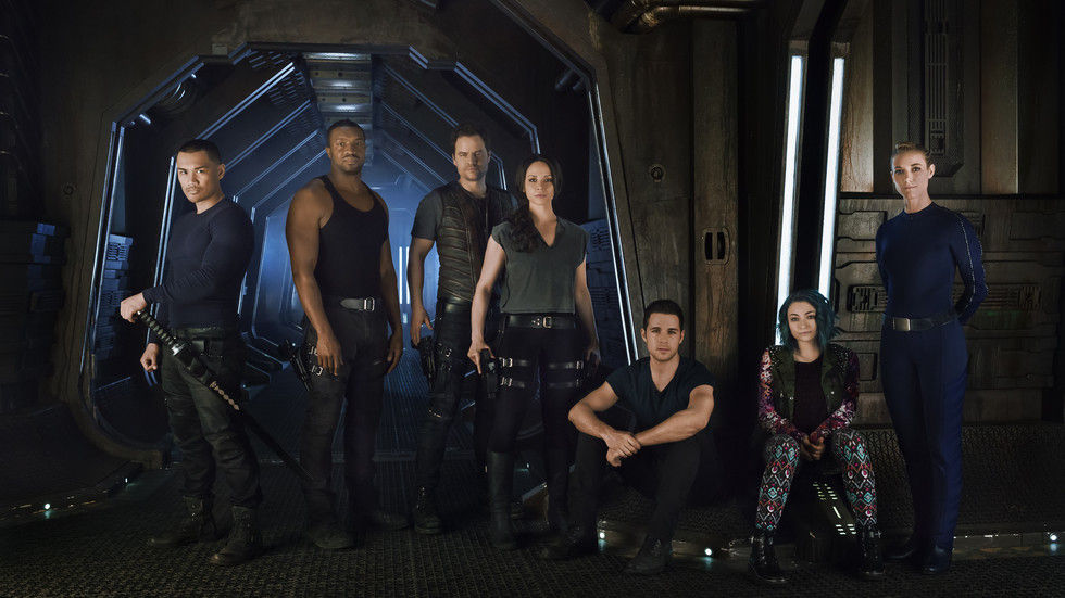 An image of the Dark Matter cast.