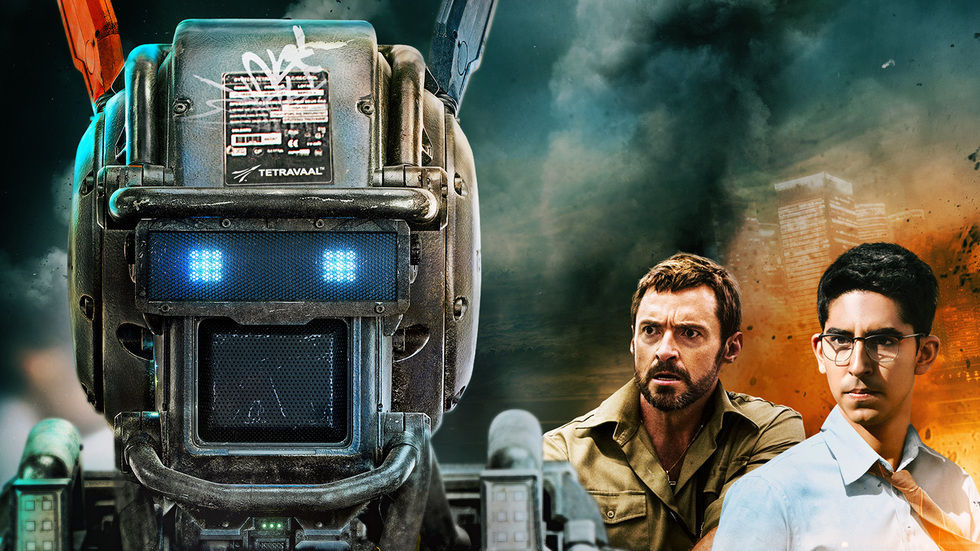 A poster for the movie Chappie.