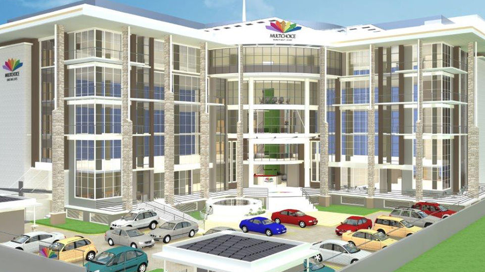 Artist impression of the MultiChoice building in Kenya
