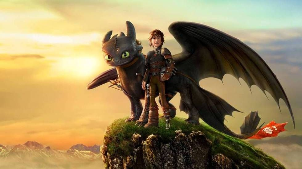 Hiccup and Toothless in Dragons: Defenders of Berk