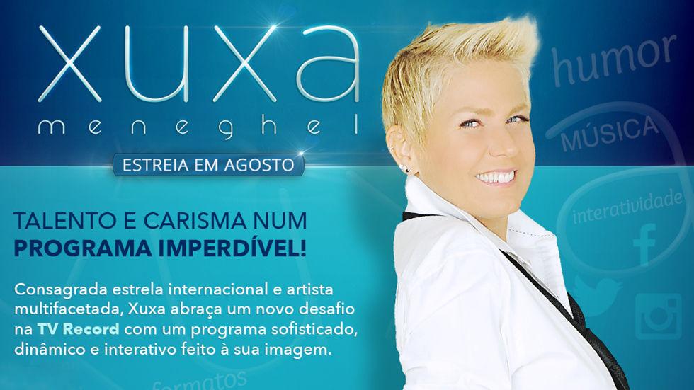 DStv, TV Record, Xuxa