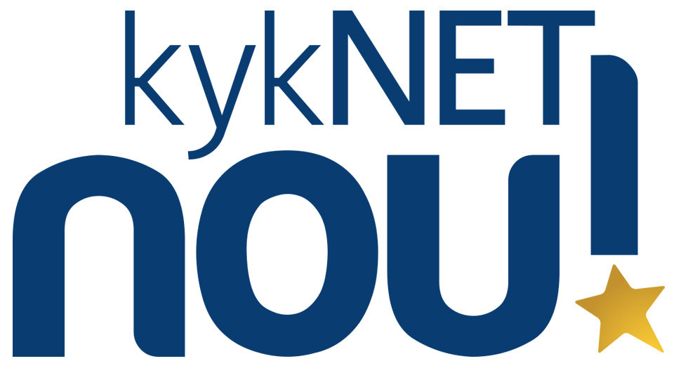 Logo for the DStv channel on 146, kykNET NOU!
