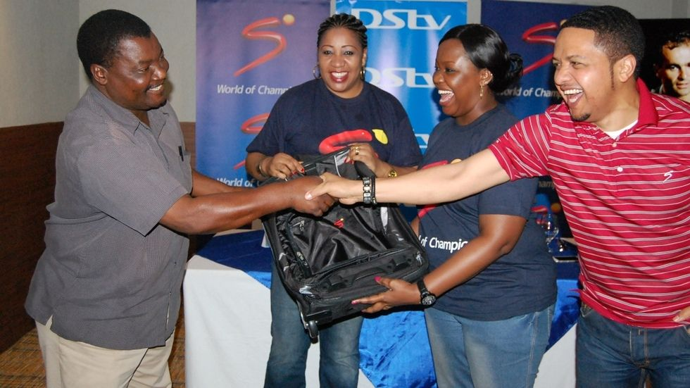 An event on Football kick-off season on SuperSport held in Tanzania