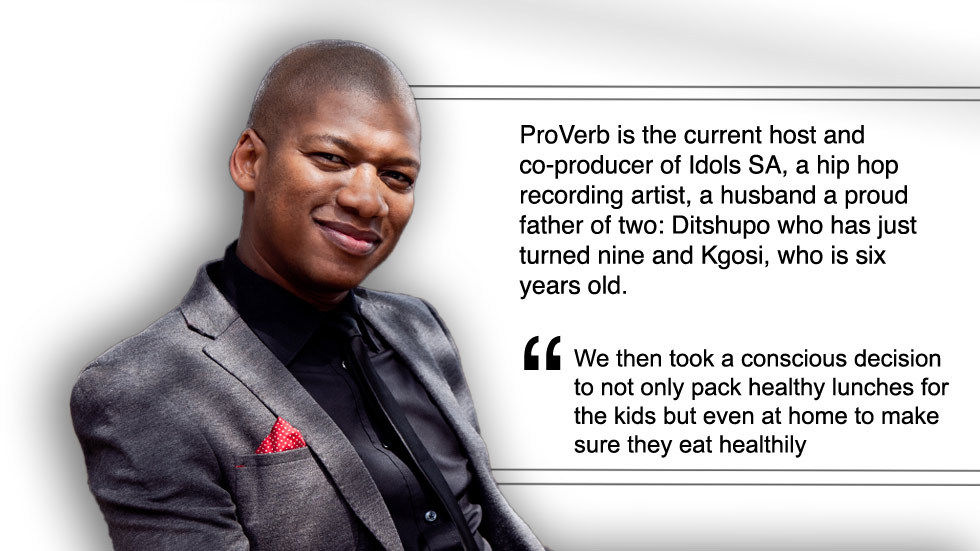 An image of artist, producer and host Proverb