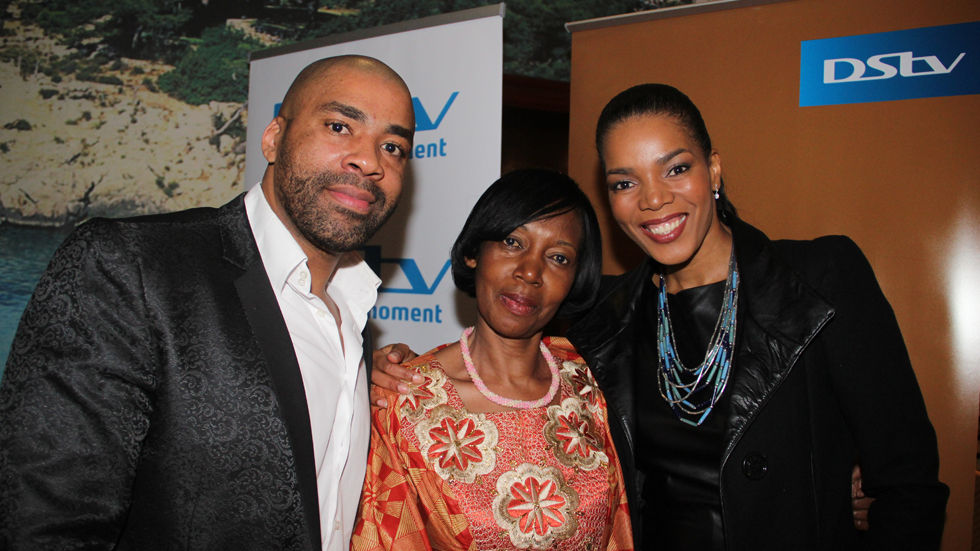 Actors Connie and Shona Ferguson