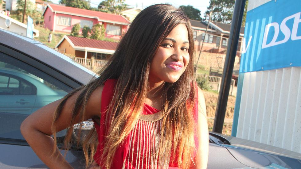 Ntombi at DStv's Durban Takeover.