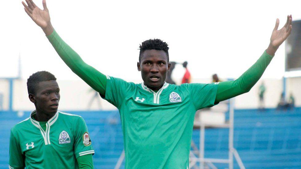 Gor Mahia striker Michael Olunga