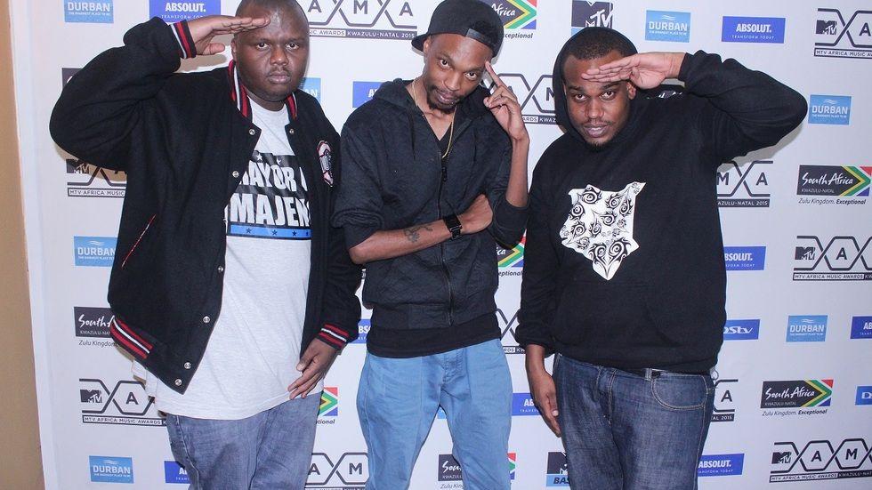 Kenyan rap sensation The Kansoul. Madtraxx Mejja Korra