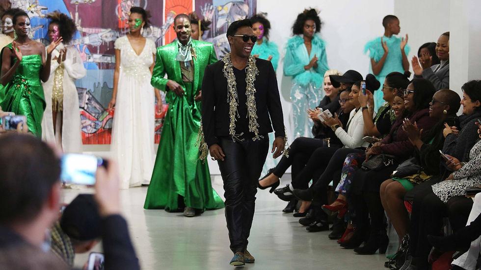 David Tlale, fashion designer