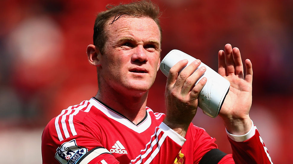 Manchester United football player Wayne Rooney