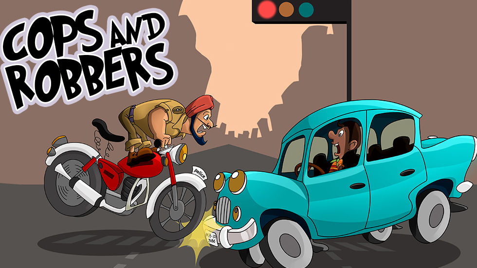 An image for the kids show Cops and Robbers