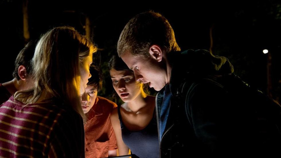 A still image from the movie Project Almanac.