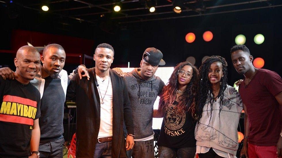 ali kiba, Neyo na wasanii wengine kwenye coke studio