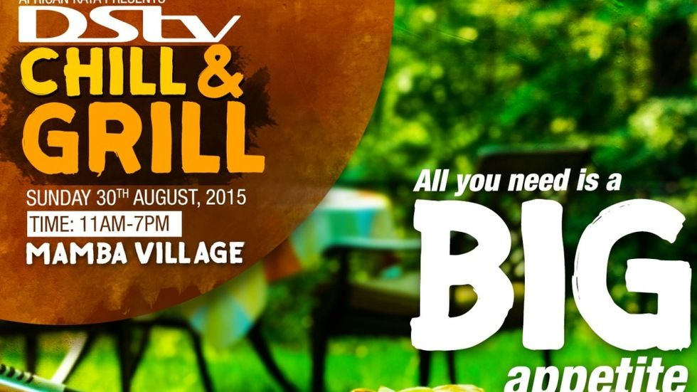 The second edition of DStv Chill and grill.