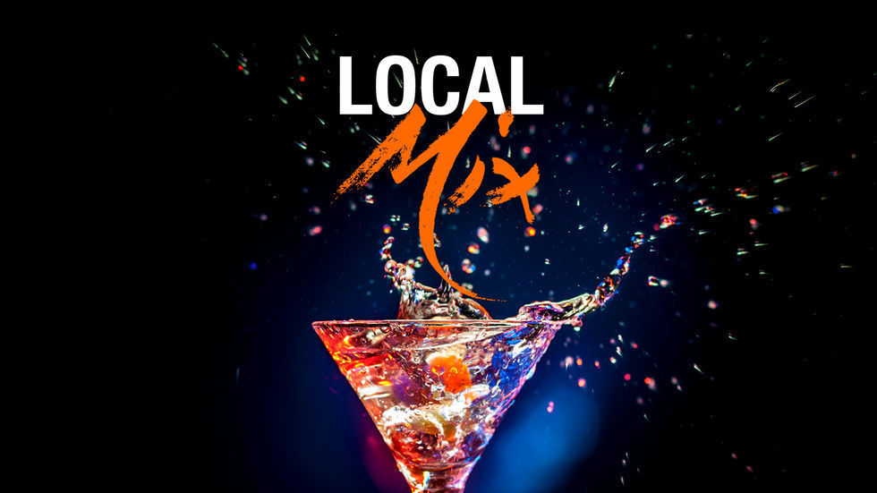 A logo for the #localmix competition