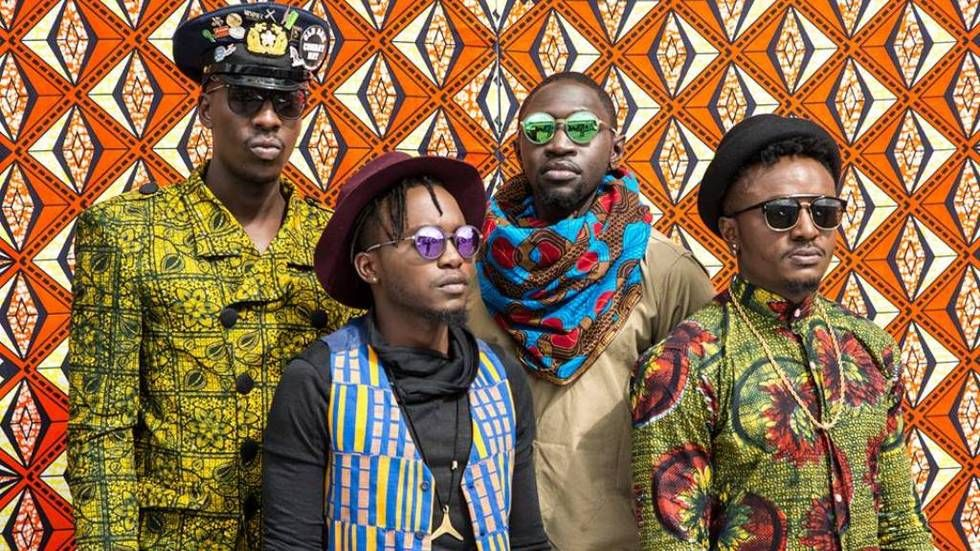 Kenyan group Sauti Sol