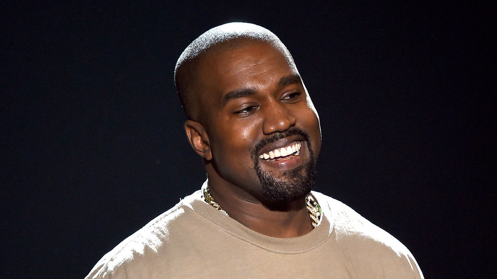 Kanye West at the 2015 MTV Video Music Awards.