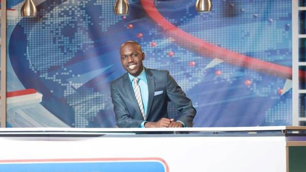 LArry Madowo host of Kenya's NTV The Trend
