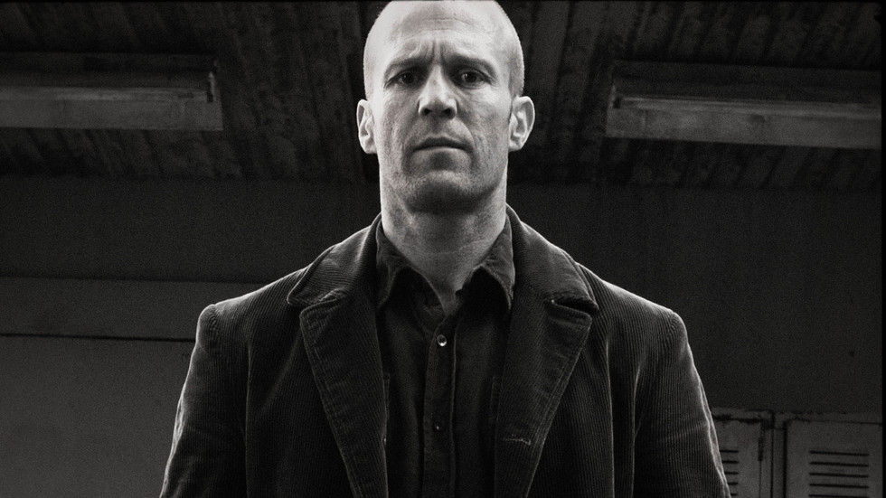Jason Statham on the poster for Wild Card.