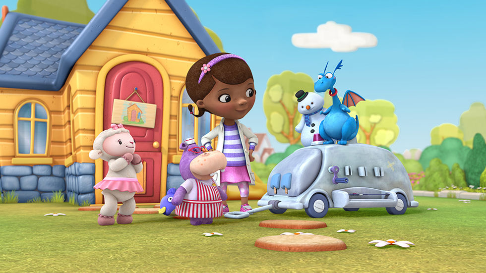 The cast of Doc McStuffins