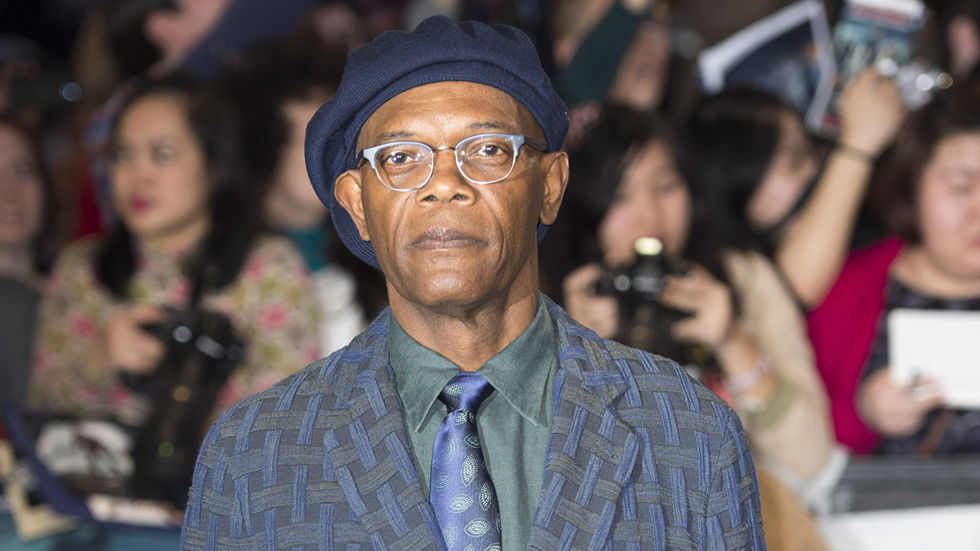 A Getty image of Samuel L Jackson who's being celebrated by SONY in September.