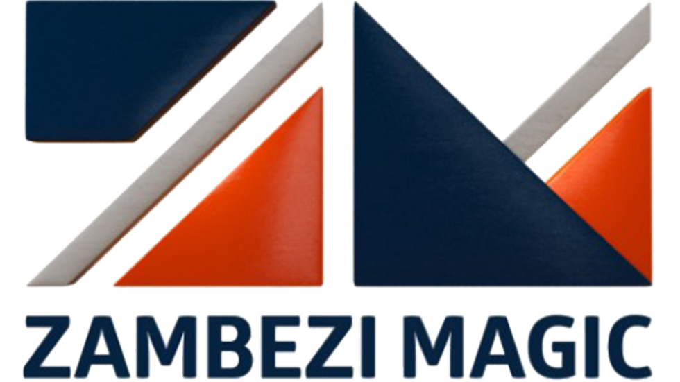 A logo for Zambezi Magic.