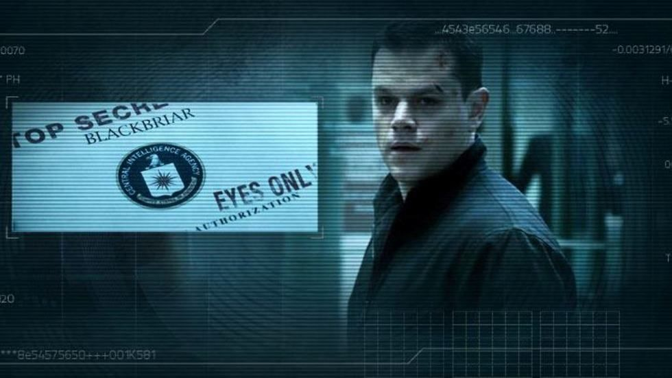 Matt Damon as Jason Bourne in the Bourne Collection