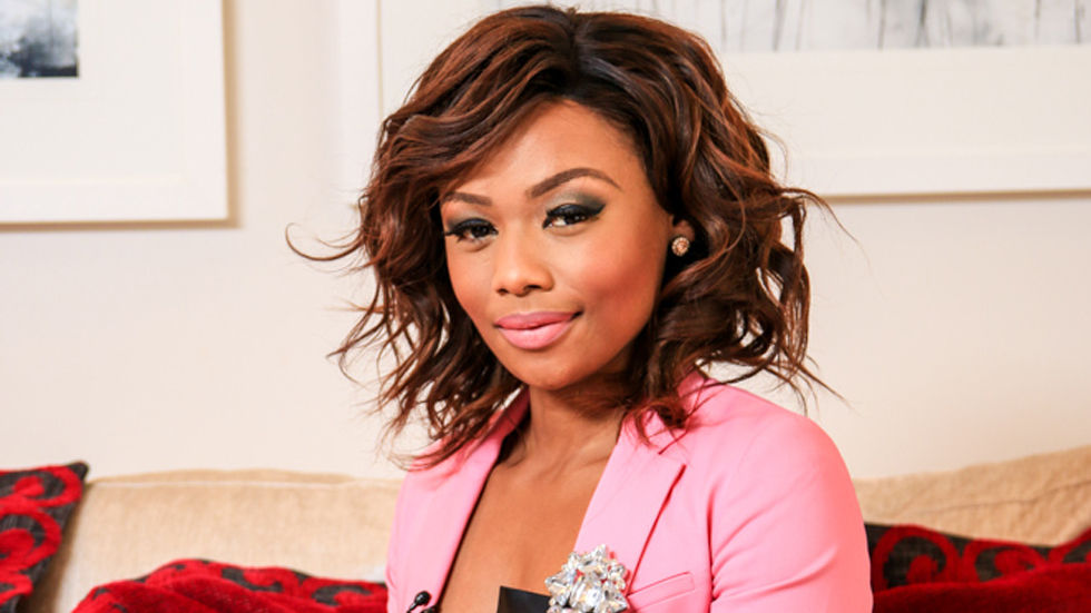 An image of Bonang Matheba who appears on E! Specials