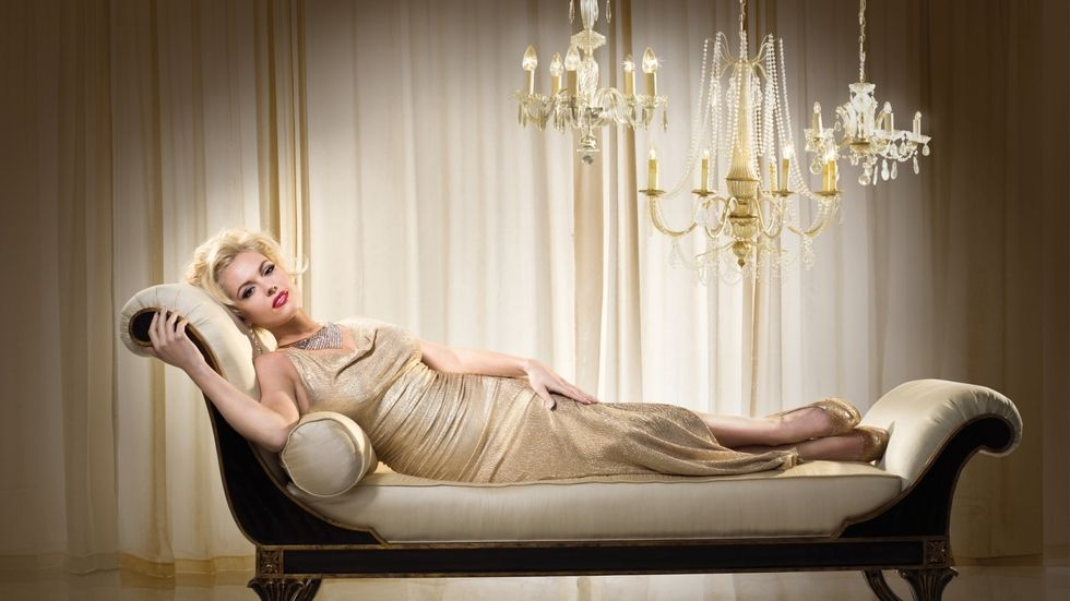 An image of Agnes Bruckner as Anna Nicole Smith in the original Lifetime movie.