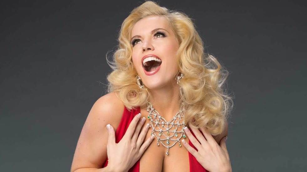 Agnes Bruckner as Anna Nicole Smith.