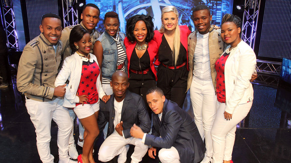 The Top 10 contestants in the reality show Idols SA
