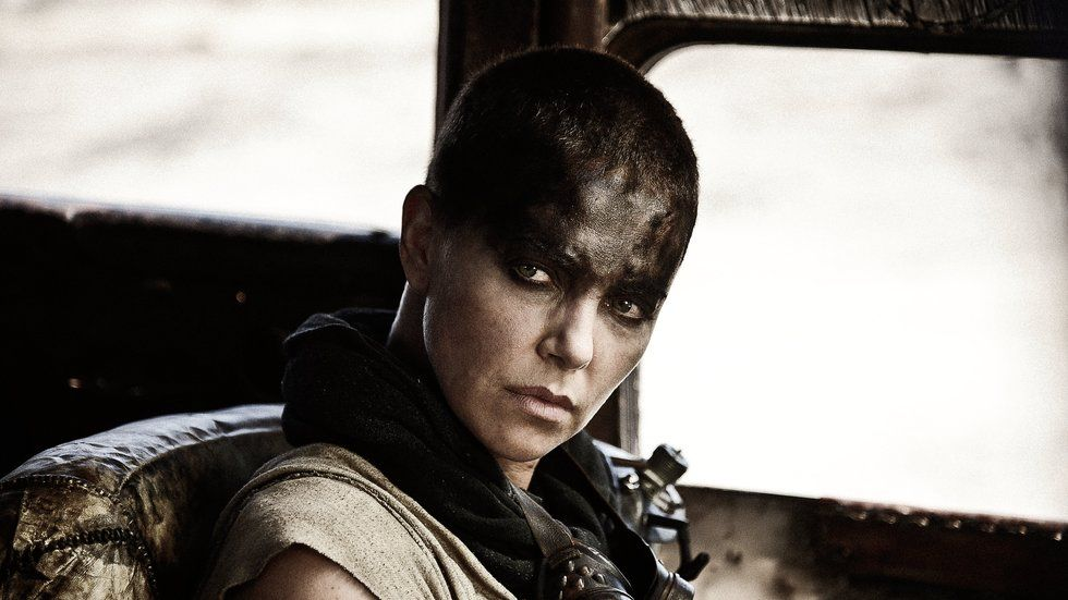 An still image of Charlize Theron from Mad Max: Fury Road