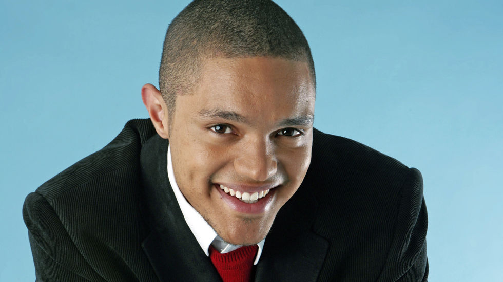 Host of Comedy Central's The Daily Show, Trevor Noah.