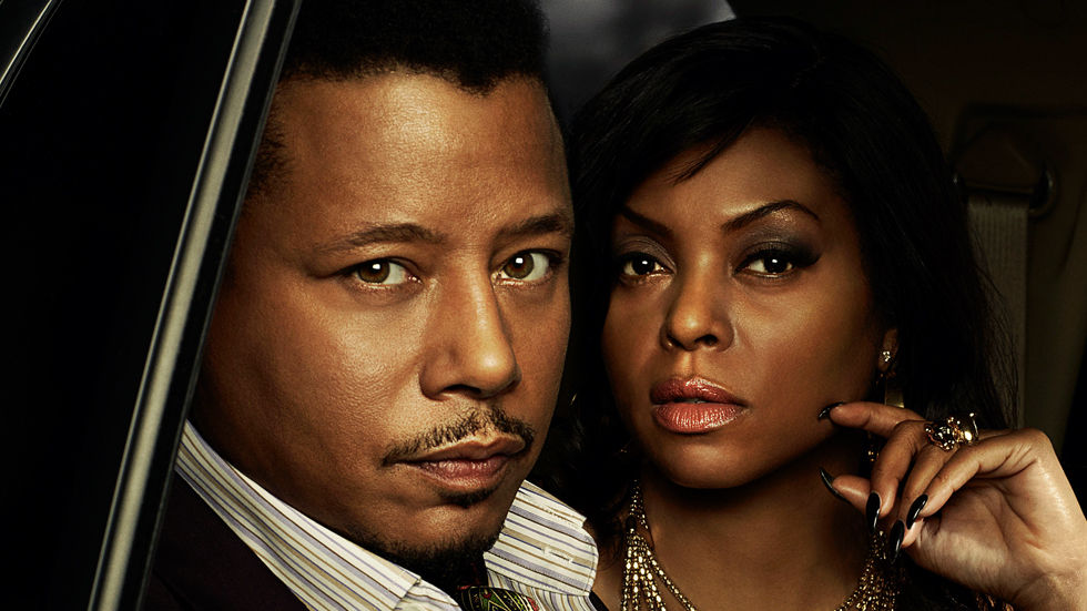 Taraji P Henson and Terrence Howard as Cookie and Lucious Lyon in the FOX drama Empire
