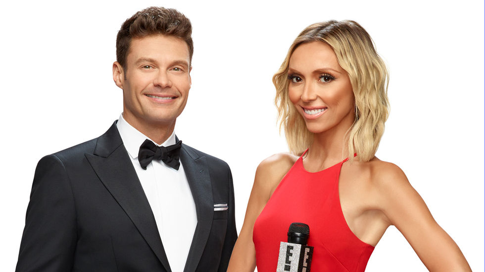 Ryan Seacrest and Giuliani Rancic