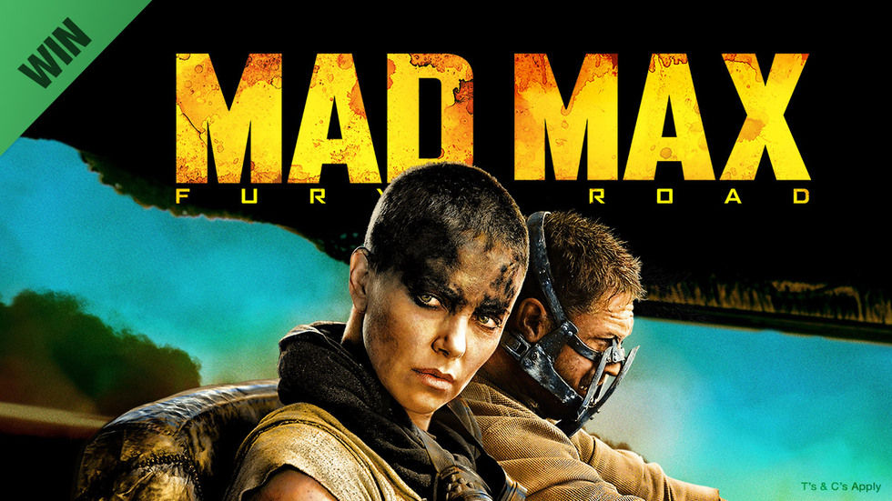 Poster art for Mad Max: Fury Road on BoxOffice