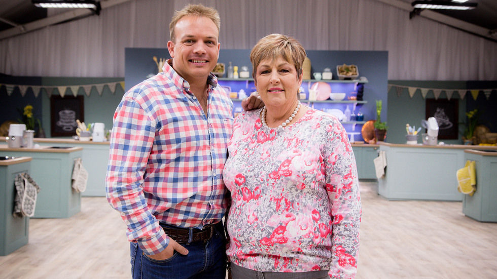 The South African Bake Off, Shirley Guy, Tjaart Walraven