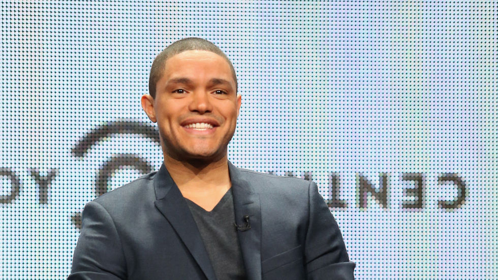 A Getty image of Trevor Noah.