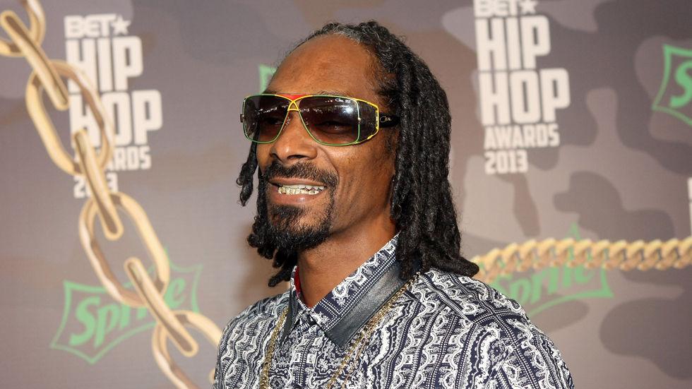 American rapper Snoop Dogg