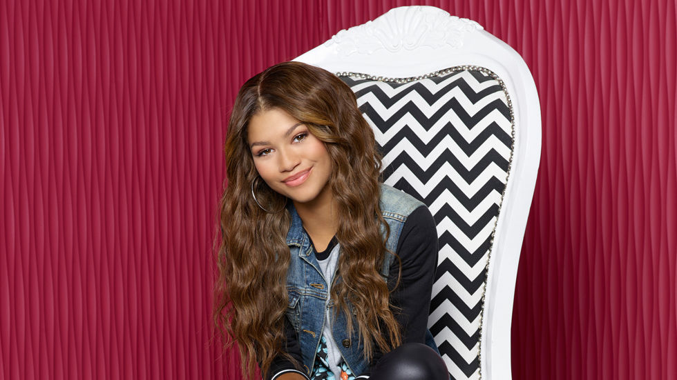 An image of Zendaya Coleman who plays KC in Disney XD's new series KC Undercover.