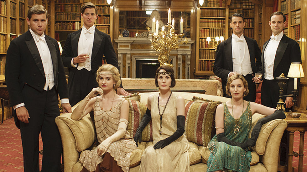 Downton Abbey, BBC First, S5, new