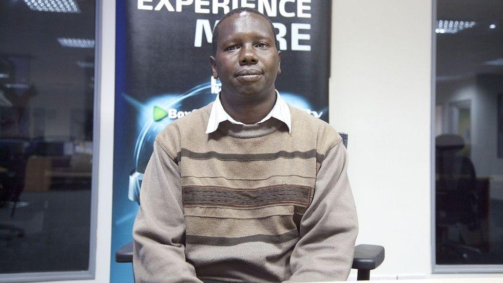 CNN finalist, journalist Charles Kariuki
