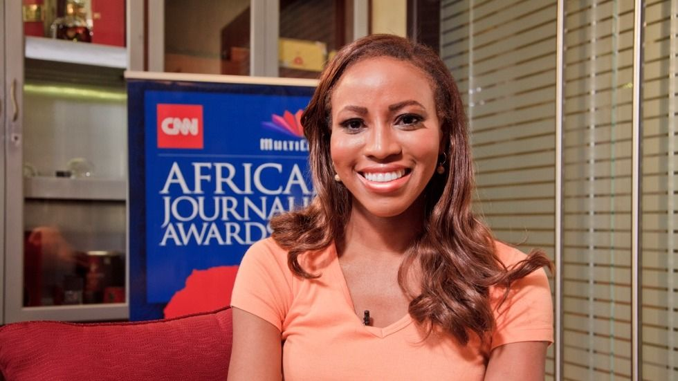Host of Market place Africa and achor in the CNN  Newsroom Zain Asher