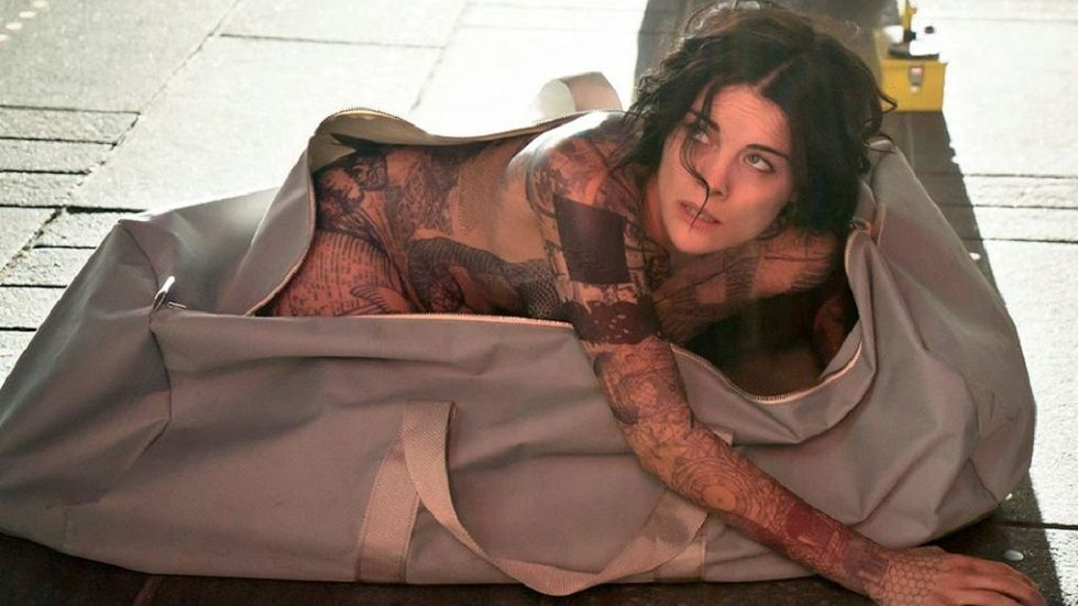 Jaimie Alexander as Jane Doe in Blindspot