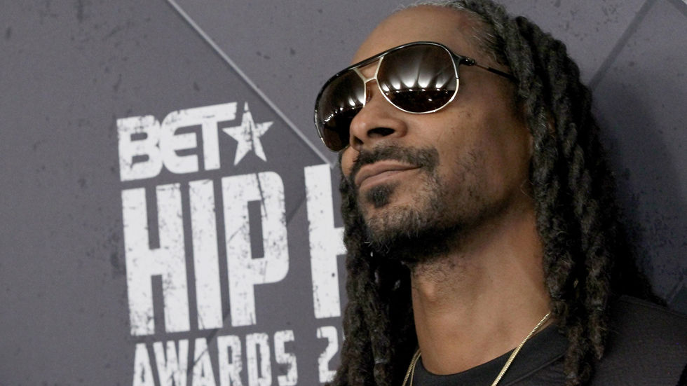 American rapper and host of the BET Hip Hop Awards, Snoop Dogg