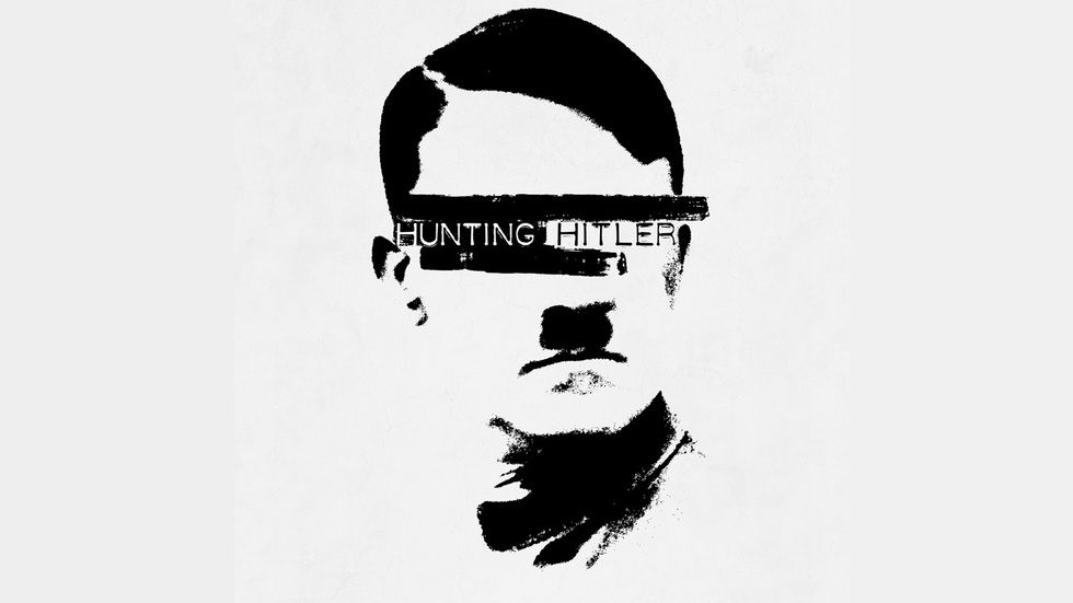 The official promo picture of the eight-part series Hunting Hitler.